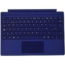 Microsoft QC7-00057 - Funda con teclado para Microsoft Surface Pro 4, color azul