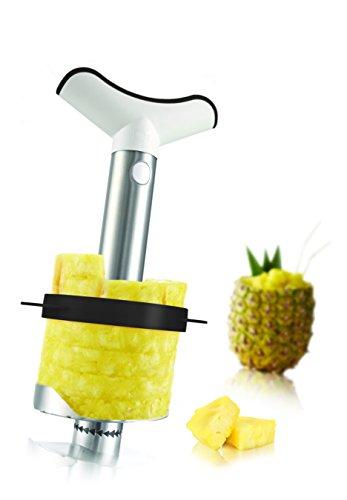 Tomorrow`s Kitchen (bislang Vacu Vin) 4872460 Ananasschneider,Portionierer, Edelstahl, grau -das...