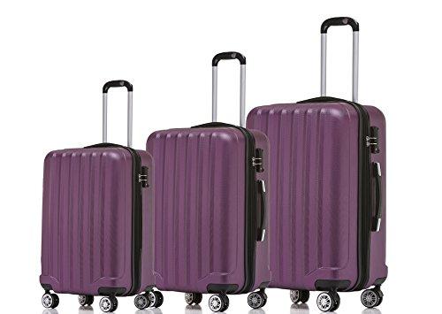 78c759818 Beibye TSA – Candado 2080 Hang epäck ruedas Gemelas nuevo Maleta rígida  Juego de L XL