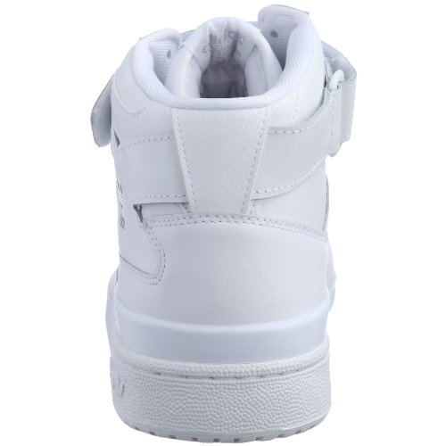 Adidas Forum mid 036622, Baskets Mode Homme Blanc