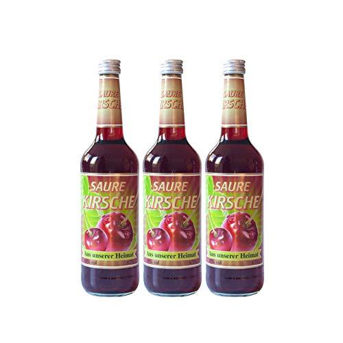 Kirschlikör Aus unserer Heimat Spezialitäten Saure Kirsche Likör 0.7 l,15% vol. (3 Flaschen)