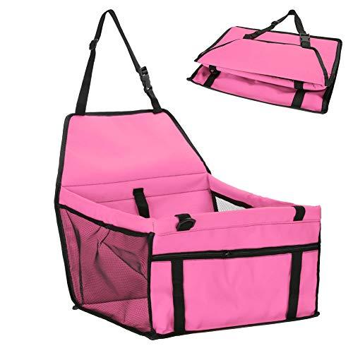 Shangcer Auto-Booster-Kissen für Hunde, Haustierreisetasche Hundekorb-Katzenklo Bett mit...
