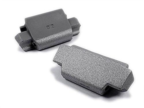 Casio Ersatzteile 2 x Endstück Kappe - Endpiece Cover für WVA-105HD WVA-105HDE