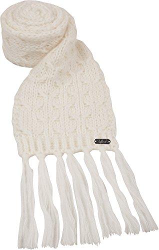 Schal - Ensemble bonnet, écharpe et gants - Uni - Femme Gris - blanc