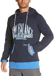 new balance hoodie herren schwarz