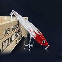 GSCshoe Bass Fish Bait, Small Fat Simulation Bait Equipo de Pesca, Tentación Flotante, Natación Realista, Bass Bait The Hook Bait Difícil (tamaño : 9.5cm-22g)