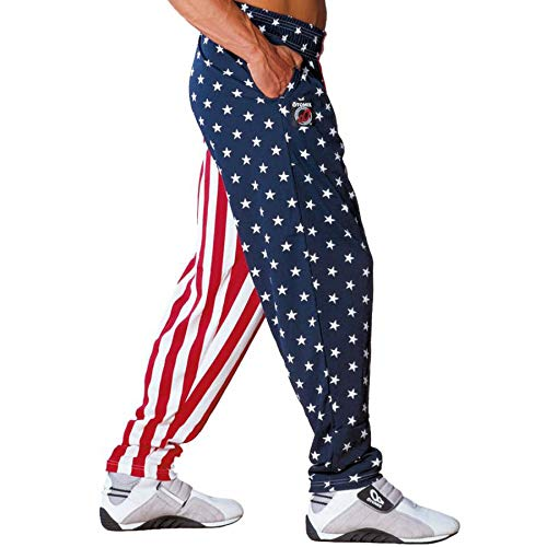 OTOMIX Baggy Gym Workout Pants Stars and Stripes Otomix Baggy Pants