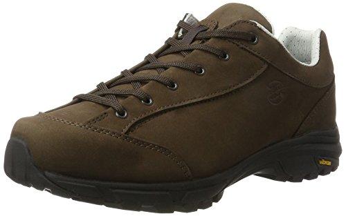 Hanwag Valungo Bunion, Chaussures de Randonnée Basses Homme Marron (Erde_brown)