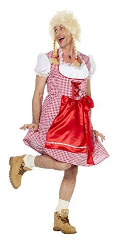 Wilbers Herren Kostüm Travestie Dirndl Karneval Fasching Männerballett Gr.60
