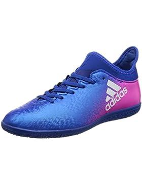adidas X 16.3 In J, Botas de Fútbol Niños