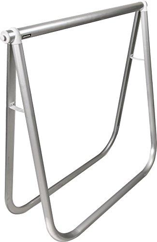 """WAGNER Design Klappbock """"EXCLUSIV STYLE"""" - Aluminium eloxiert 78 x 74 x 25 cm, Rohr Durchmesser 35 mm und oval 35 x 45 mm, Tragkraft 100 kg, vielseitig einsetzbar für jeden Raumstil - 12641201"""