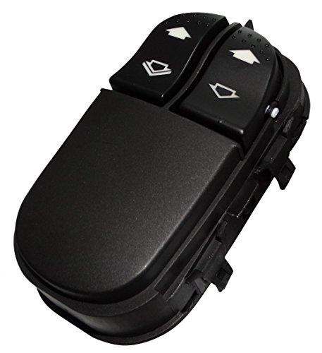 Aerzetix: Interrupteur bouton lève-vitres compatible 7S4T14529AA pour auto voiture C18719