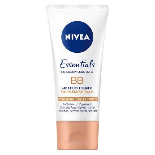 NIVEA VISAGE BB Cream mittel bis dunkel 50 ml Creme