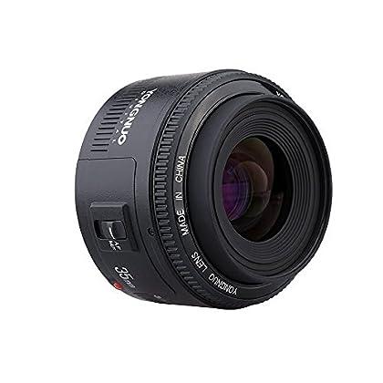 ARBUYSHOP Yongnuo 35mm Lente YN35mm F2 de la lente gran angular grande abertura fija el enfoque automático de la lente para Canon EOS EF Monte Cámaras