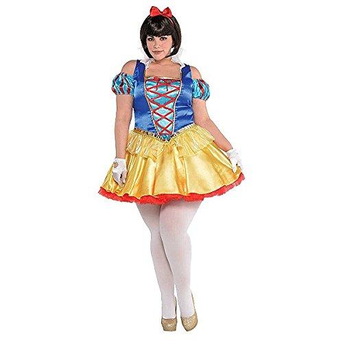 Snow White Costume Plus Size (Kostüme White Size Plus Snow)