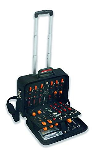 Plano PC 120E   Carro porta herramientas profesional en E.V.A. (Etileno, Vinilo, Acetato), con estructura de refuerzo en ABS