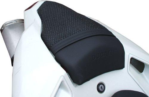Triboseat Coprisella Passeggero Antiscivolo Nero Compatibile Con Ducati 848 (2008-2013)