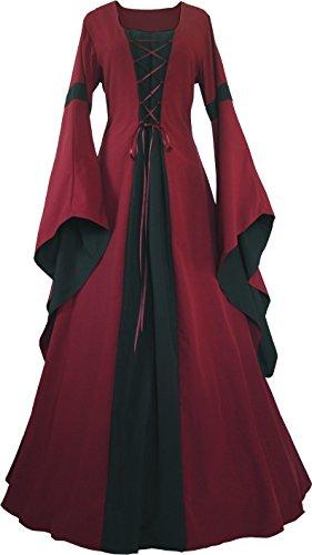 elalter Kleid Johanna Bordeaux (36/38 kurz, Bordeaux-Schwarz) ()