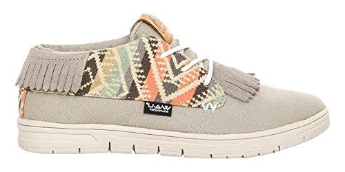 WAU WC96048 - Zapatillas de Deporte de Lona Hombre, Multicolor (Multicolor (Camo C31909)), 40 EU