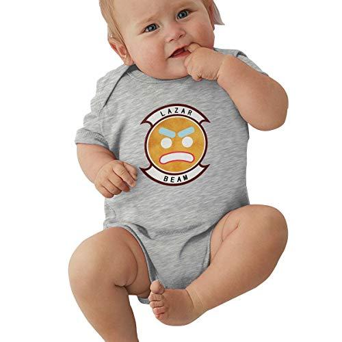 Jungen Sommer Bodys T-Shirt Lazarbeam T Shirt Shirts Für Kleinkind Mädchen Jungen Kurzhülse Grau 18 Mt ()