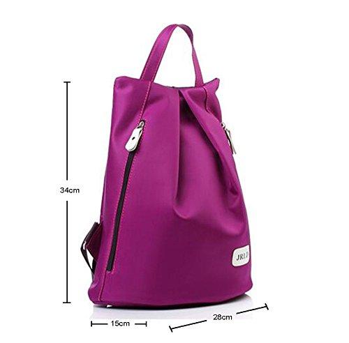 Imagen de niceeshop tm unisex púrpura tela oxford  púrpura, 13.38x11x5.9 pulgadas  alternativa