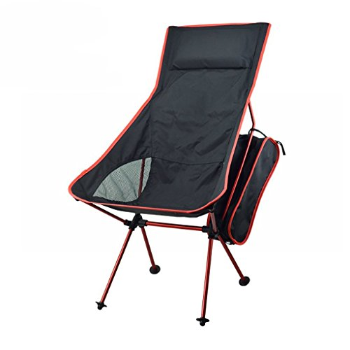 PIIO Chair-Foldable Outdoor Seat-Aluminum Alloy Steel Tube Breathable Oxford Material-Ideal for Camping Vacation Garden Caravan Tour Fishing Beach Barbecue Sketch-Multifunctional Chair