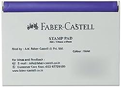 Faber-Castell Stamp Pad, 110 x 69 mm - Violet