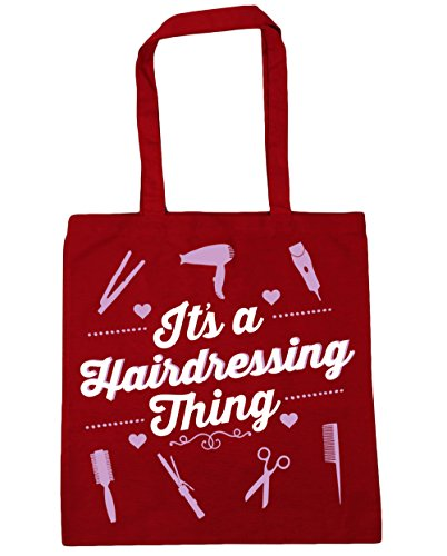 HippoWarehouse It's a hairdressing thing Tote Shopping Gym Beach Bag 42cm x38cm, 10 litres