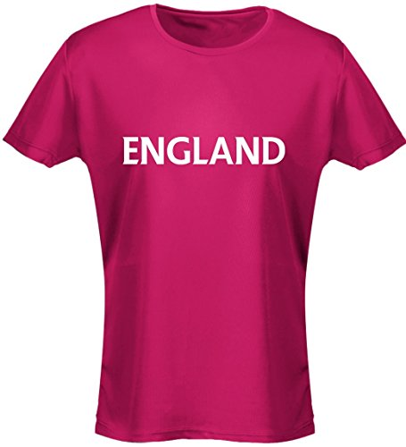 swagwear England Football Rugby Womens T-Shirt 8 Colours (8-20) by
