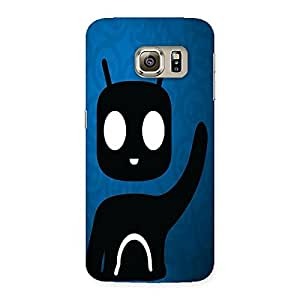 NEO WORLD Tv Head Guy Back Case Cover for Samsung Galaxy S6 Edge Plus