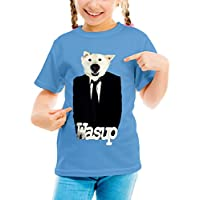 Three Monkeys Dog In Suit Animals Collection Girls Classic Crew