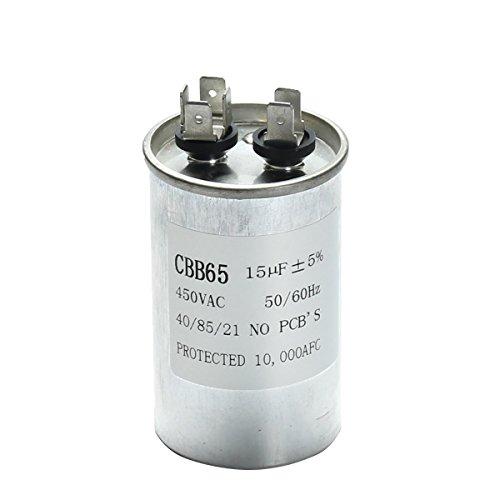 LaDicha 15-50Uf Motor Kondensator Cbb65 450Vac Klimaanlage Kompressor Start Kondensator -A - Klimaanlage Motor