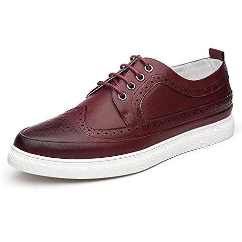 Brock grabado zapatos ocasionales de los hombres en primavera/UK air bajo zapatos