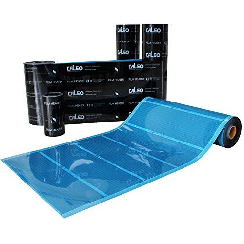 Mi-Heat Infrarot Heizfolie 80Watt/m² 0,5x1m als elektrische Fußbodenheizung