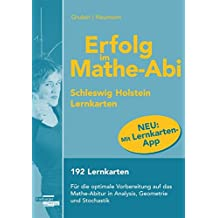 Erfolg im Mathe-Abi Lernkarten mit App Schleswig-Holstein