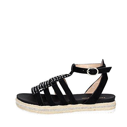 Laura Biagiotti 435 Sandalo Donna Nero