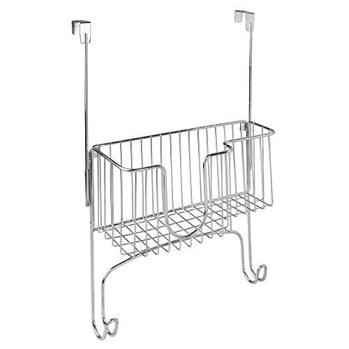 interdesign-38079cteu-support-de-table-a-repasser-avec-panier-metal-chrome-1346-x-3302-x-3302-cm