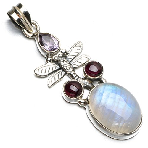 stargemstm-natural-top-quality-rainbow-moonstone-and-amethyst-punk-style-925-sterling-silver-pendant