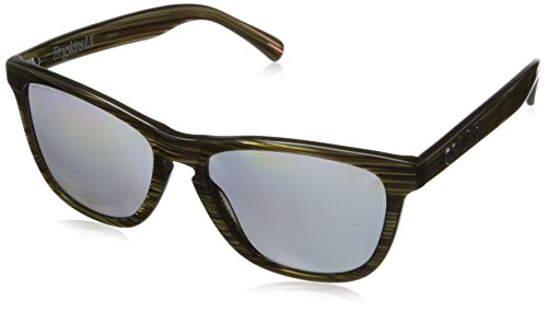 Oakley Herren Global Frogskin Lx 204309 56 Sonnenbrille, Grün (Banded Green/Grey Polarized),