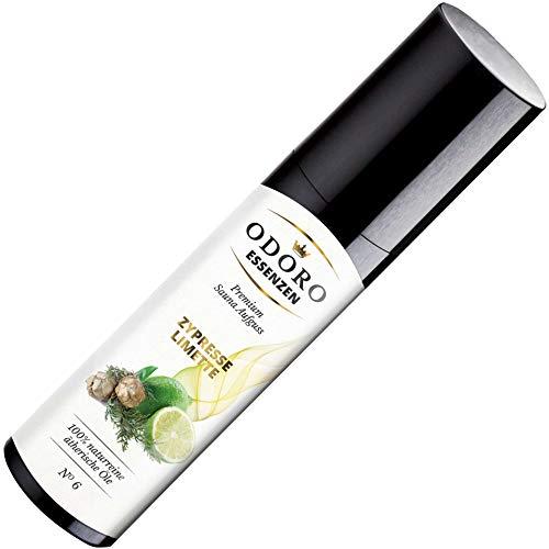 Saunaaufguss Duft Zypresse Limette - 100% ätherische Öle - Premium Aufguss Konzentrat (100ml) - Natürliches Aufgussmittel, naturreine Saunaaufgüsse -