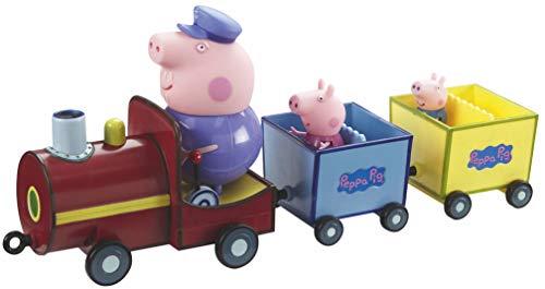TM Toys 5034peppas Tren con 2Colgantes, Multicol ored
