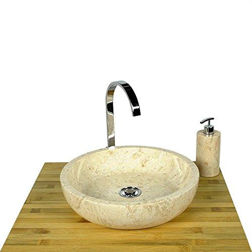wohnfreuden-marmor-aufsatz-waschbecken-rund-40-cm-creme-waschtisch-waschschale-aufsatzbecken