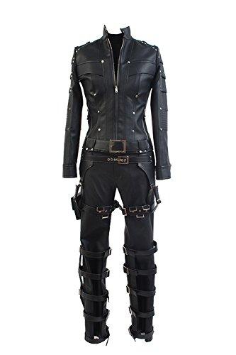 ack Canary Uniform Cosplay Kostüm Set Schwarz XL (Black Arrow-kostüm)