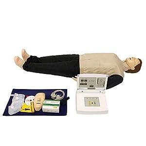 Huili Kardiopulmonäre Reanimationssimulator – Herz-Wiederbelebung-Simulator – Computer-Reanimations-Attrappe für medizinische Erste-Hilfe-Fähigkeiten-Training