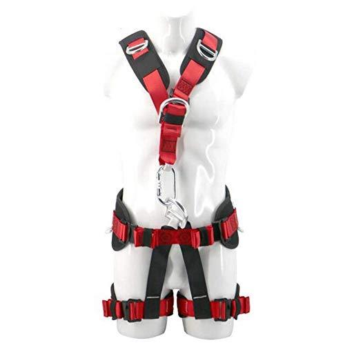 DaQingYuntur Cintura di Protezione Spider-Man, Imbracatura da Arrampicata per Arrampicata all'aperto, Imbottitura Confortevole, Sicurezza Durante l'arrampicata