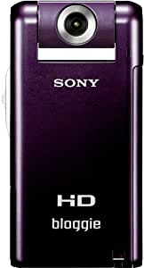 Sony MHS-PM5KV Bloggie High Definition Handycam Camcorder with 360 degree filming and 4GB Memory Stick - Violet