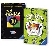 Ravensburger 81883 - classic novità: fase 10 abluxxen, gioco ctipo