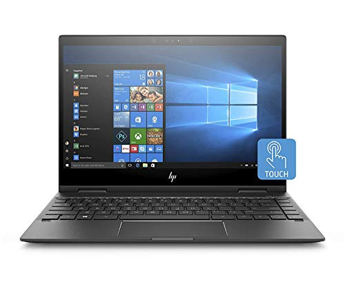 HP Premium ENVY x360 13-ag0006nl Notebook Convertibile 13.3'' FHD, AMD Ryzen 5 2500U, 8 GB di RAM, 256 GB SSD, Penna Stilo Attiva Inclusa, Windows 10 Home, Argento Cenere