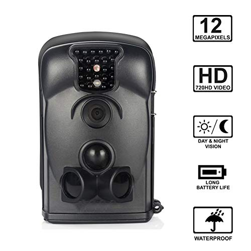 MC.PIG Wildkamera Jagdkamera Trail Jagd Kamera Wildlife Cam12MP Nachtsicht 120 Full HD 2,4 LCD-Bildschirm PIR 65 ft / 20m Wasserdichtes IP65 für Wildlife Hunting Monitoring Indoor- und Outdoor-Aktivit