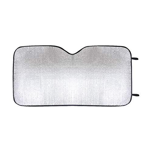 fingww Parasole per Auto Parabrezza Interno Tre Gatti Neri Divertente Personalizzato Universale per Auto UV E Riflettore Termico Parabrezza per Auto Parasole Design Stampa Colorata Estate
